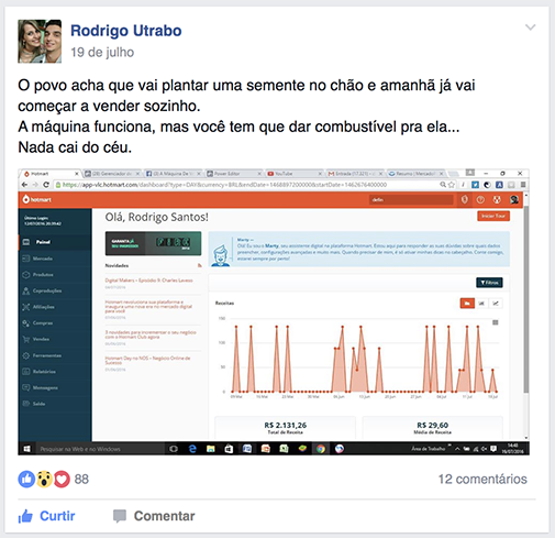 depoimento negocio online automatico