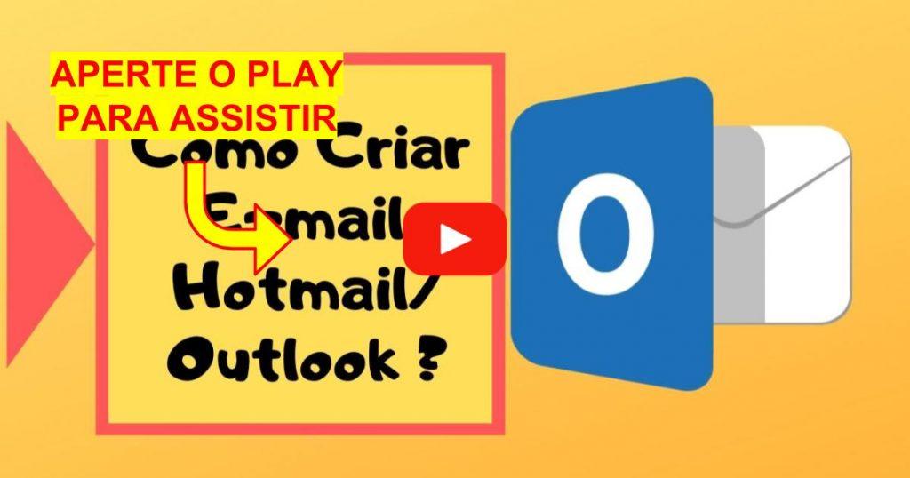 Criar E-mail Hotmail