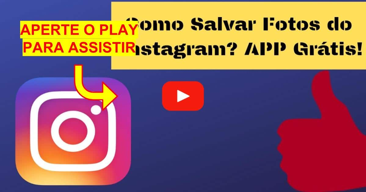 Como Salvar Fotos do Instagram