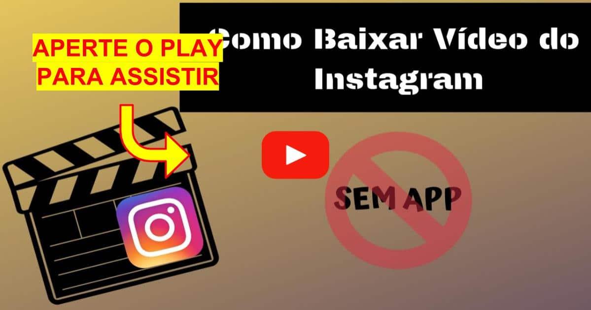 Como Baixar Vídeo do Instagram