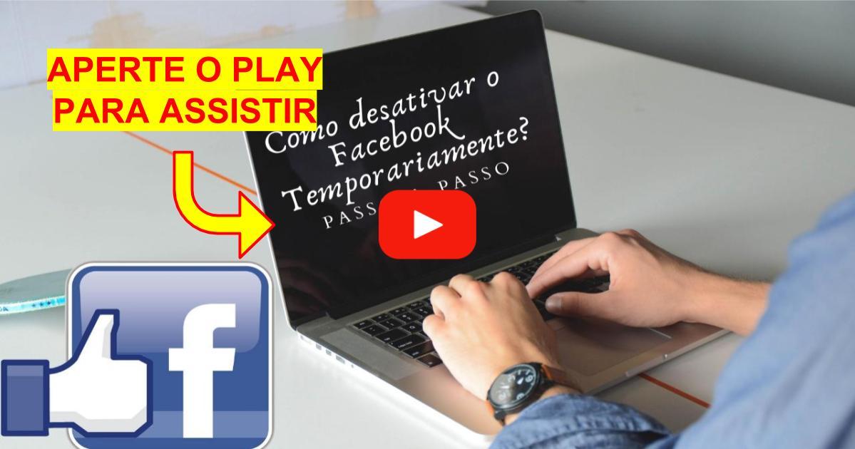 Como desativar o Facebook Temporariamente