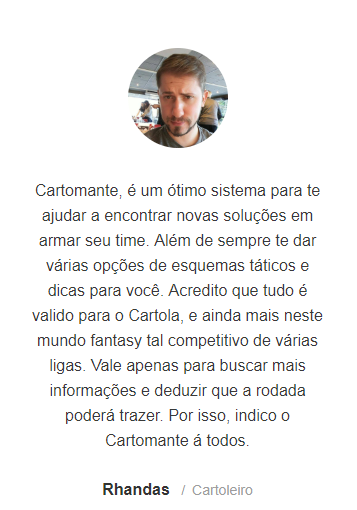Depoimento Cartomante FC