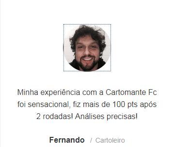 Depoimentos Cartomante FC