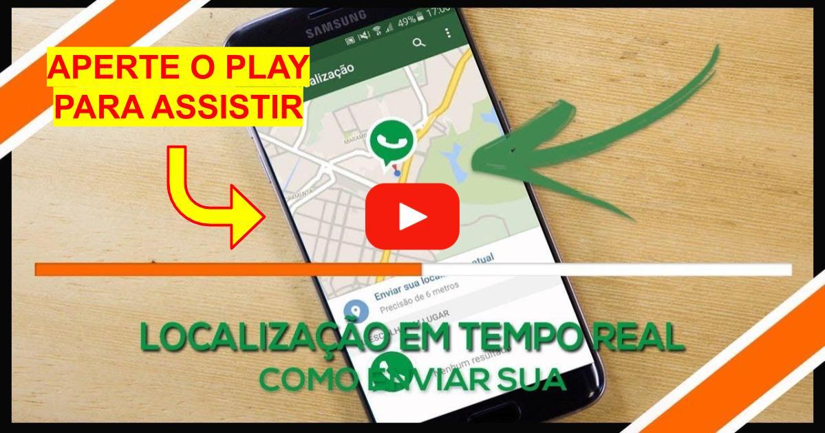 Como Enviar sua Localização no Whatsapp