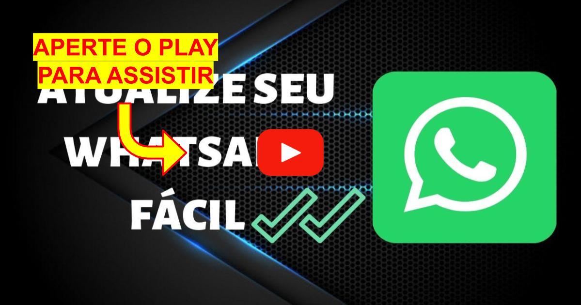 Como Atualizar o Whatsapp