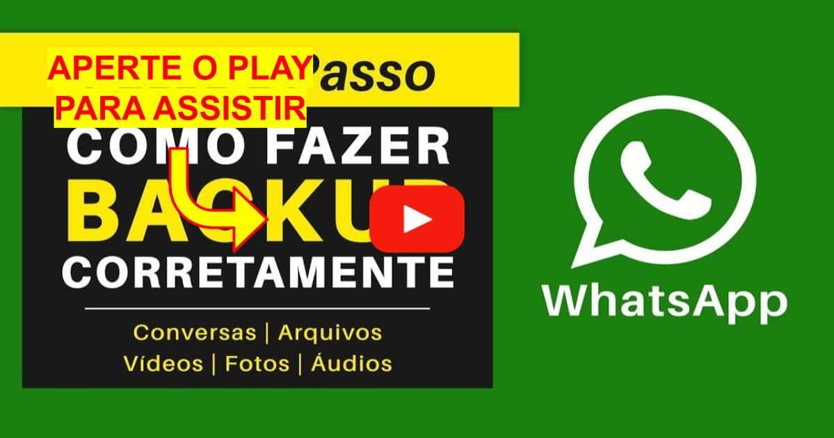 Como Fazer o Backup do Whatsapp