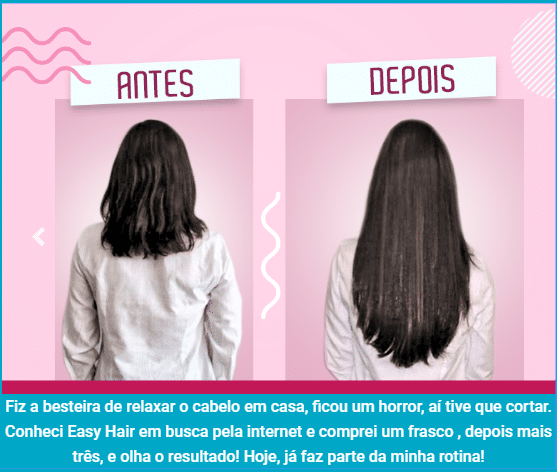 Depoimento Easy Hair