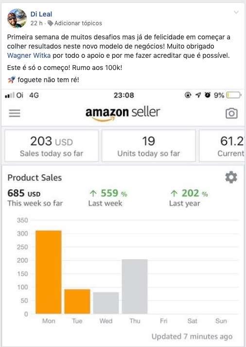 Amazon Ninja depoimentos