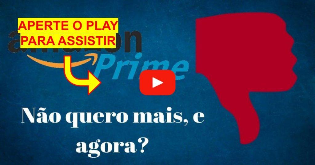 Como Cancelar o Amazon Prime Video