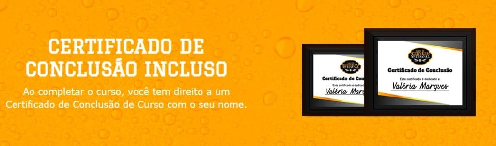 curso de cerveja artesanal online