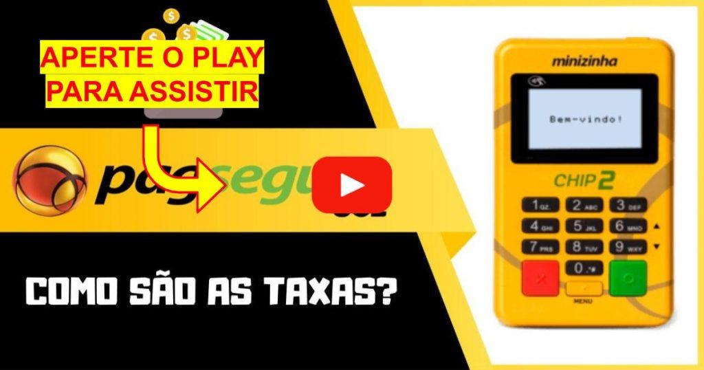 taxas da PagSeguro