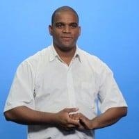 Sandro Cruz curso de libras