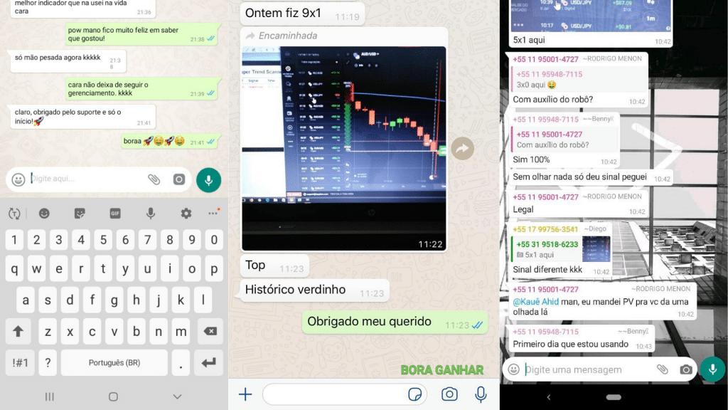 Boss Trader funciona