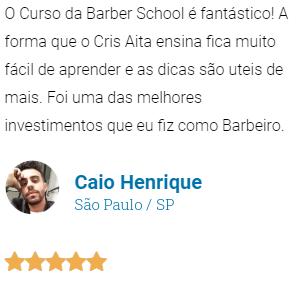 Curso de Barbeiro Barber School Depoimento