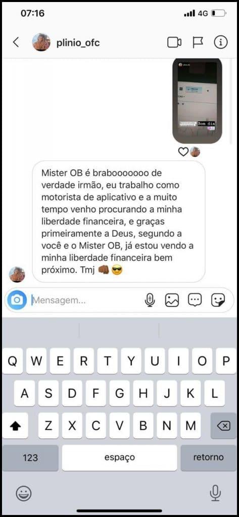 Mister OB é bom mesmo