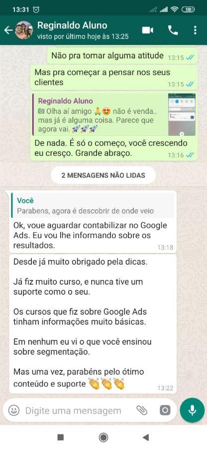 Viver de Google depoimentos