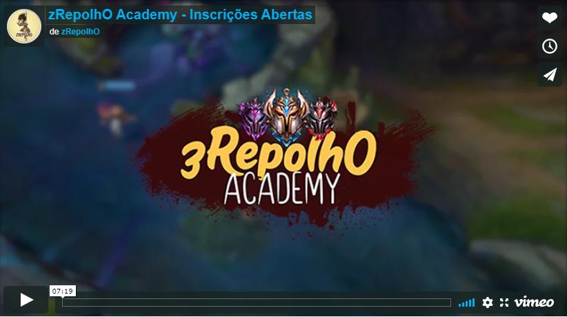 zRepolhO Academy é bom