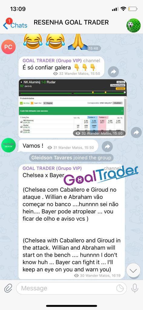 Goal Trader é bom