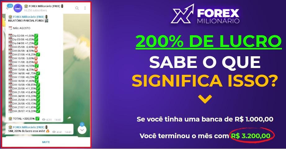 Forex Milionário do Ronald Lopes