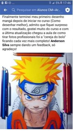 Curso de Desenho do Anderson Silva vale a pena mesmo