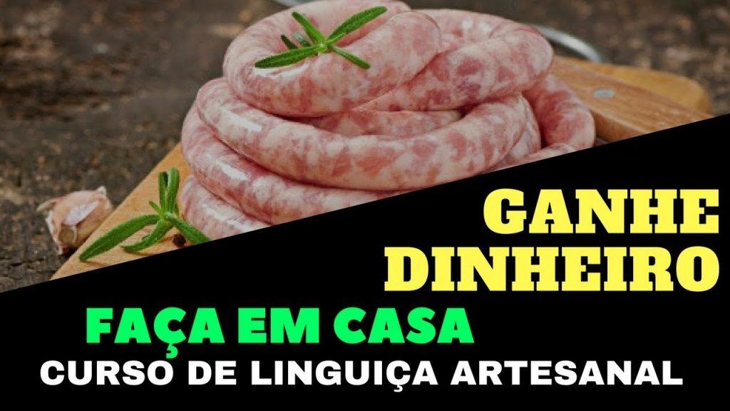 Curso de Linguiça Artesanal Online