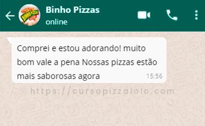 Curso de Pizzaiolo Depoimento