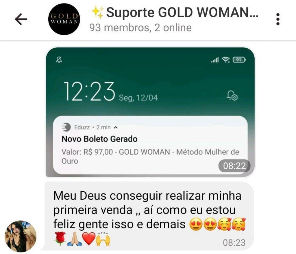 Gold Woman é bom mesmo